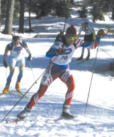 Cross-country skiing - biathletes