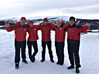 Cross-country skiing instructors